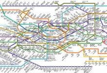 旅する電子本@韓国ソウル-韓国ソウル地下鉄路線図