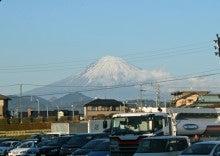 伊豆通信-日本平PA下りからの富士山