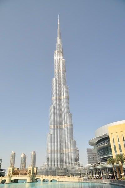 ドバイの世界一高いビル(828m)|目標は200の国と地域訪問
