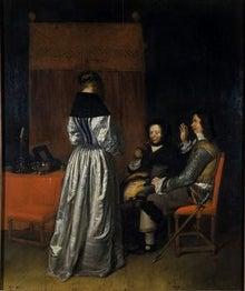 REMOVE-The Visit 1655-Caspar Netscher