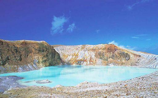 時つむぎ-カルデラ湖