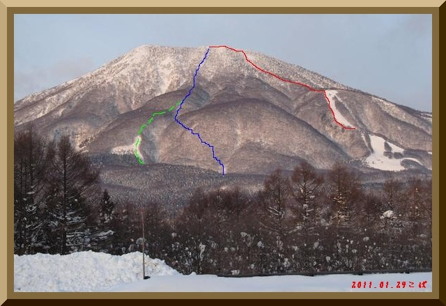 ロフトで綴る山と山スキー-0129_ルート