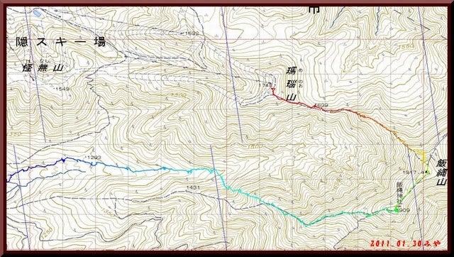 ロフトで綴る山と山スキー-0130_GPS軌跡