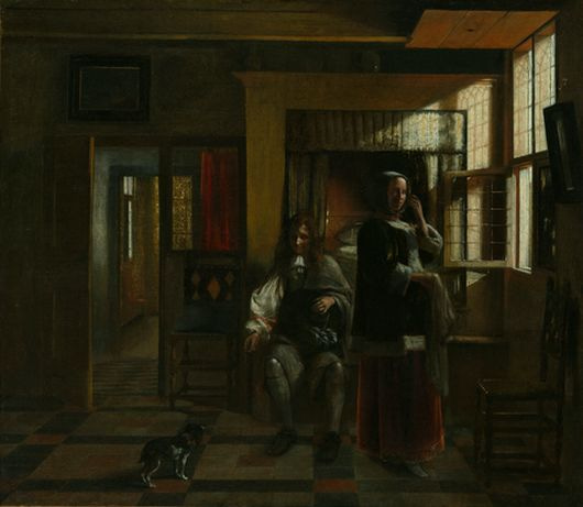REMOVE-Interior with a Young Couple