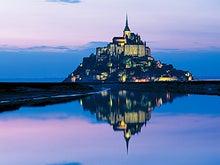 フランス モンサンミシェル