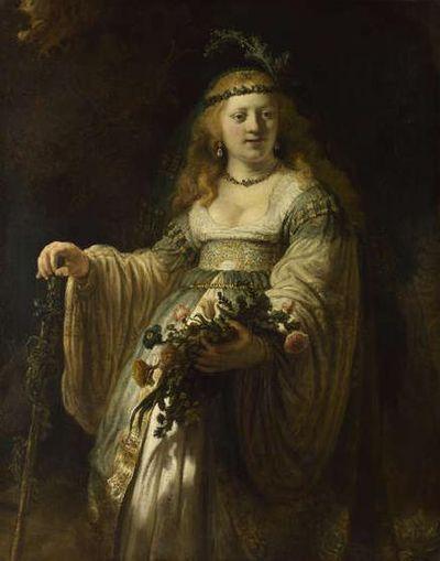 REMOVE-Saskia van Uylenburgh in Arcadian Costume