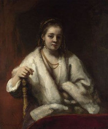 REMOVE-Portrait of Hendrickje Stoffels 1654-56
