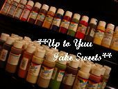 新米作家のフェイクスイーツデコ日記*Up to Yuu Fake Sweets*-絵の具