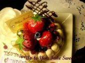 新米作家のフェイクスイーツデコ日記*Up to Yuu Fake Sweets*-シャルロットケーキ