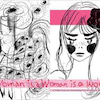 A woman is a woman is a woman.の画像