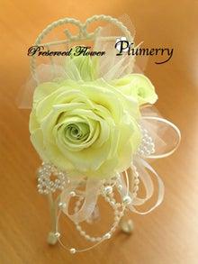 Plumerry(プルメリー)プリザーブドフラワースクール (千葉・浦安校)-メリア 手作りコサージュ プリ