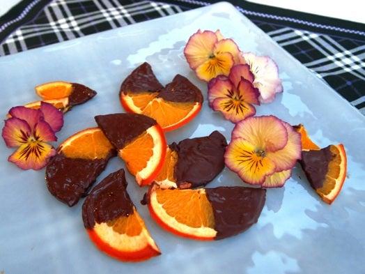 長澤家のレシピブログ-チョコオレンジ画像