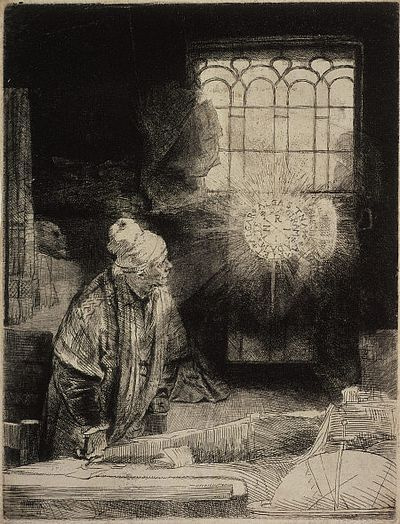 REMOVE-Faust in his Study