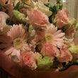 花束とともに