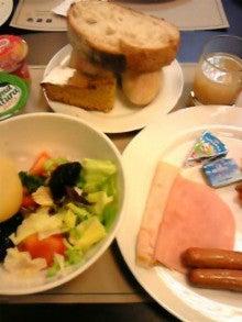 MOO日記-20110122朝食