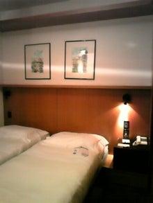 MOO日記-20110121ホテルの部屋