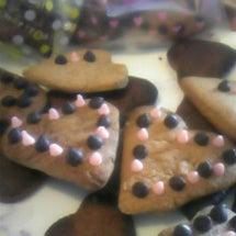 手作りチョコクッキー…