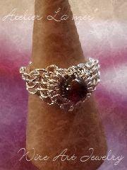Atelier La mer ~ Wire Art Jewelry Lesson-Atelier La mer Wire Art Besic 02