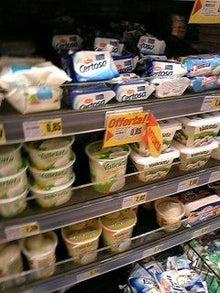 MOO日記-20110122スーパーのチーズ棚