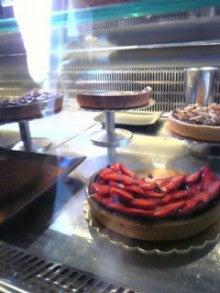 MOO日記-20110122Chocolatカフェのイートイン用ケーキ