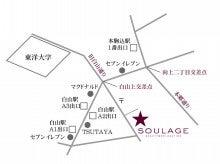 $soulage-bonnaureさんのブログ-地図
