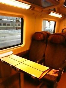 MOO日記-20110122列車の中