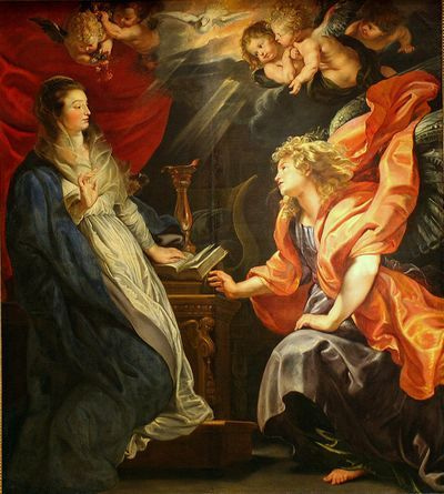 REMOVE-Peter Paul RUBENS, The Annunciation, 1610