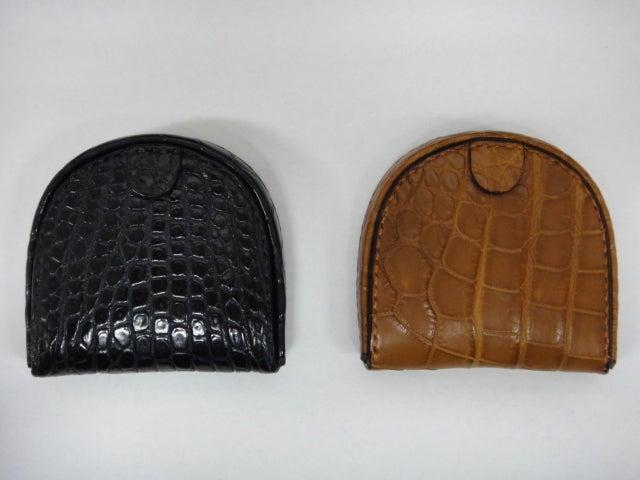 CrocodileShopGaudieのブログ-馬蹄型コインケース