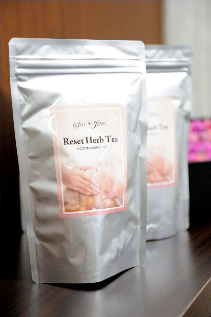 六本木エステSolJewl(ソルジュール)  ハリウッド痩身&ハリウッドフェイシャル Beautist 林美保のブログ-SolJewl Reset Herb Tea
