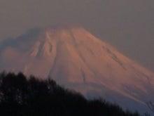 のみきちの徒然ブログ-夕焼け富士2