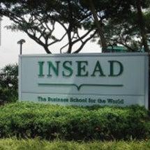 INSEADに行って…