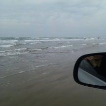 渚をドライブ♪