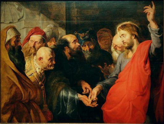 REMOVE-Petrus Paulus Rubens Le Christ et le denier de C