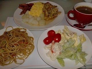 北京大学に短期留学をしました。-長府宮飯店朝食