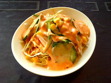 よ~り~のブログ-サラダ【アジアンキッチン マウントエベレスト】