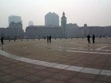 北京大学に短期留学をしました。-天津駅前広場