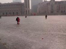 北京大学に短期留学をしました。-凍りついた海河