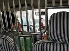 北京大学に短期留学をしました。-タクシー内部