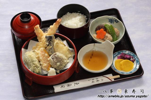 八事 東寿司のブログ-八事 東寿司 天ぷら定食