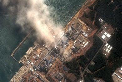 西陣に住んでます-福島原子力発電所(digitalglobe)
