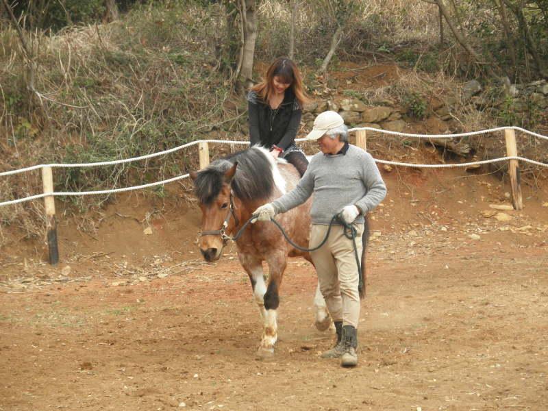 馬を愛する男のブログ Ebosikogen Horse Park-裸馬で体験