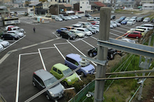 琴平町観光協会のブログ-町営西駐車場