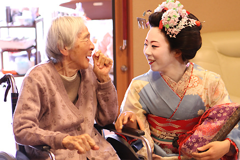 京都舞妓体験処『心』 スタッフブログ-本能特別養護老人ホーム