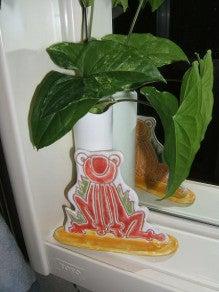 ヒロアミーの日記-カエル置物