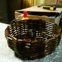 カゴの編み方⑫~油性…
