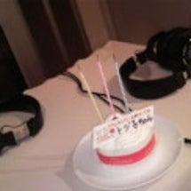 放送中のケーキ
