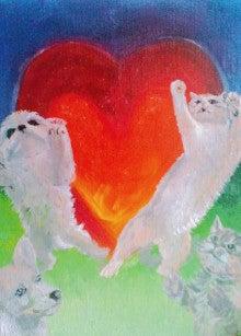 ファンタジー油絵描きErico(エリコ)の動物・ペット肖像画館-うに