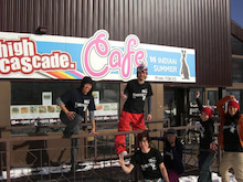 high cascade. cafe by INDIAN SUMMERのBLOG