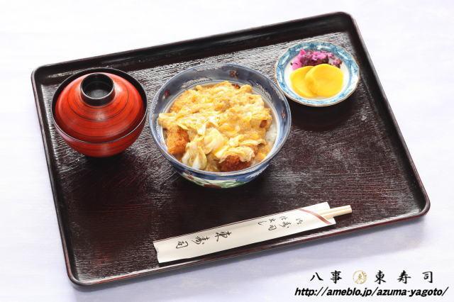 八事 東寿司のブログ-八事 東寿司 ホタテかつ丼