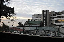 温泉達人・飯出敏夫のブログ-氷見グランドホテルマイアミ(外観と立.jpg